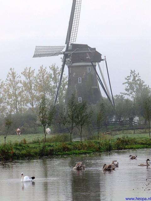 12-10-2013 Stolwijk  25.5 Km (20)