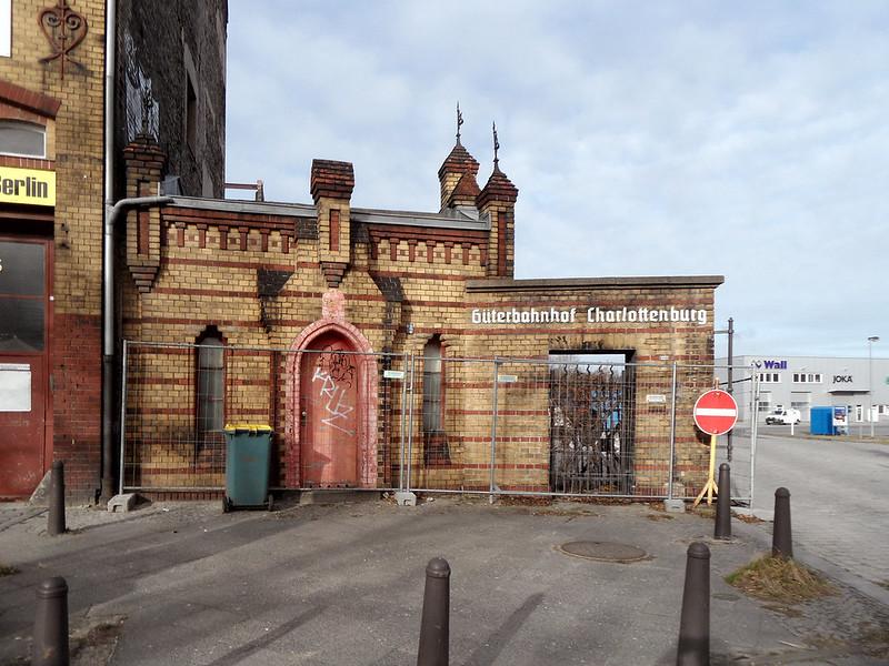 Güterbahnhof Charlottenburg - Tor und Pförtnerhaus (1894)