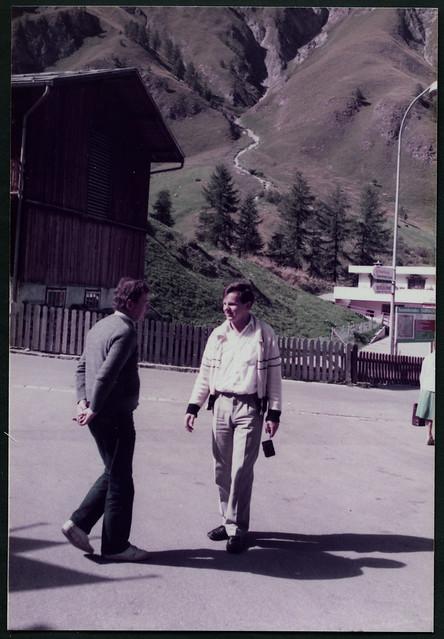K991 Mit Kurt Rehmann in Samnaun, 1984