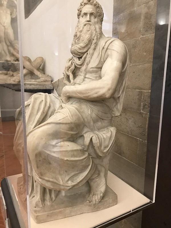 Moses by Bartolomeo Ammannati, Museo Nazionale del Bargello, Florence, Italy.