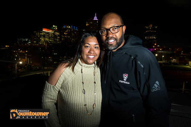 Carla and Torry Holt