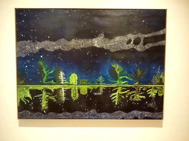 Milky Way by Peter Doig at Scottish National Gallery of Modern Art One Edinburgh