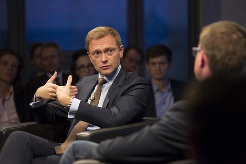 Christian Lindner (Bundesvorsitzender der FDP)   by INSM