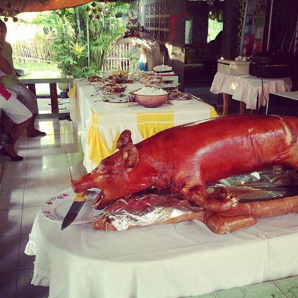 Happy Fiesta Sr  San Antonio de Padua! #lechon #roastedpig
