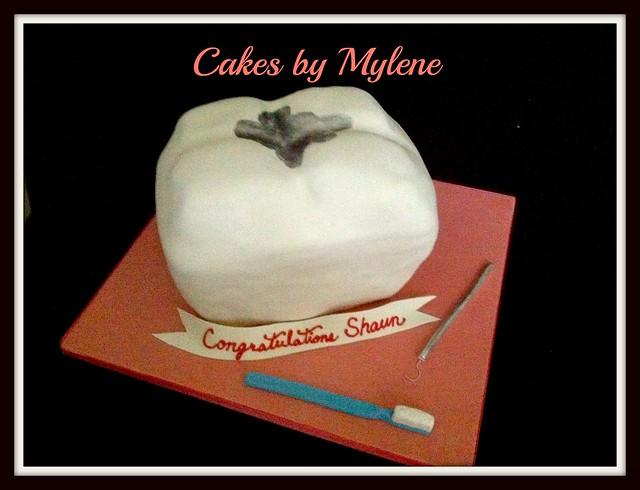 Shaun's Graduation Cake