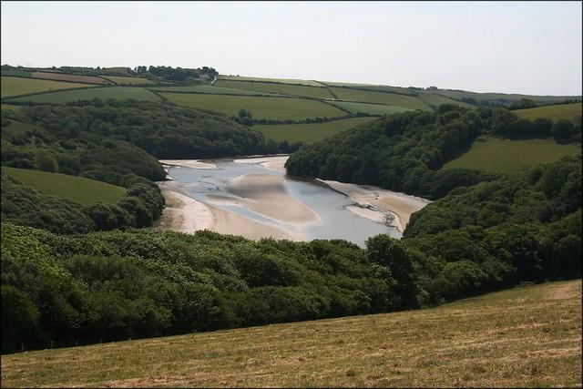 The Avon Estuary near Bigbury-on-Sea