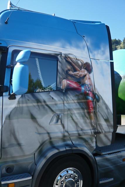 Scania door (1130823)