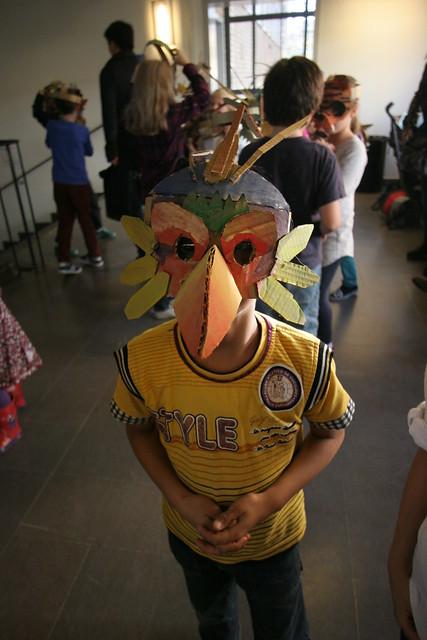 Animal mask workshop