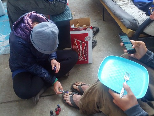 noday painting luke's toes :) | by _-ellie-_