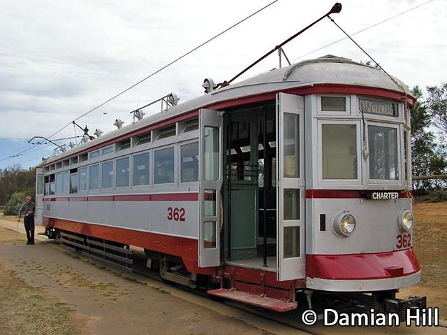 Glenelg Tram 362