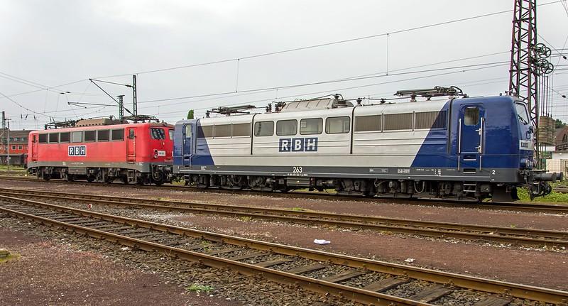 Oberhausen Osterfeld RBH 151 123-7 en 140 797-2