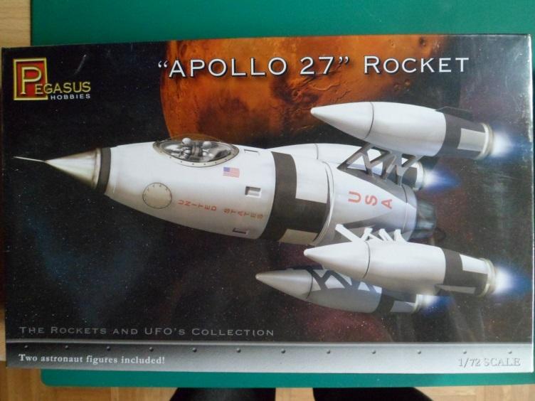 *Montage pas-à-pas* Apollo 27 rocket [Pegasus 1/72] terminé en pg 4 et diorama à suivre 14298855535_c91088afbc_o