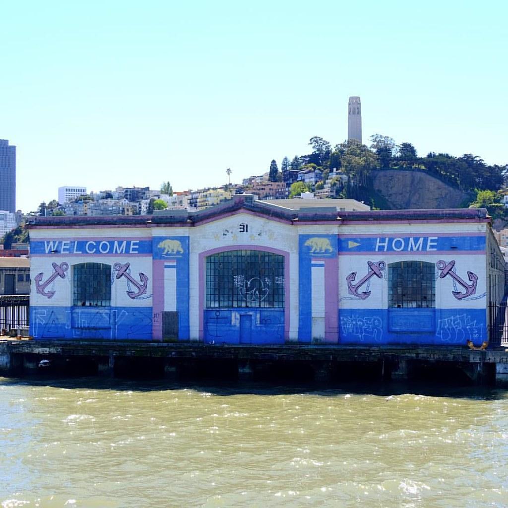 Pier 31: Welcome Home Sailors! Pier 31. San Francisco, CA. The Ligh