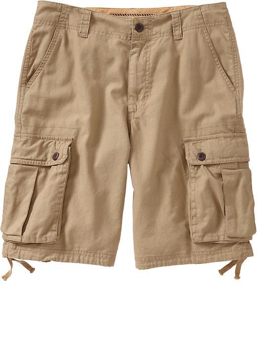 fresh styles cute cheap great look Old Navy Mens Linen Blend Cargo Shorts 10 12