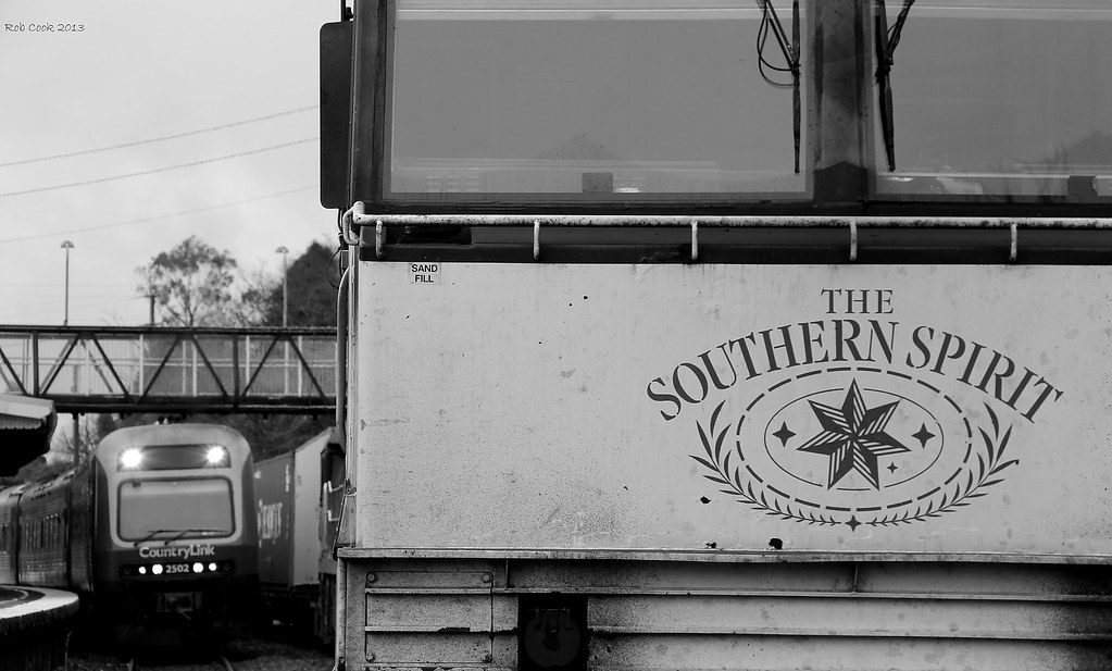 Southern Spirit meets CountryLink by Robert Cook