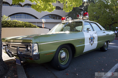 Shaded Green Police Cars | by FranksRails Photography, LLC.