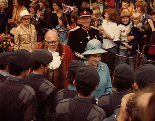 The Queen visits Washington