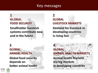 Global health and sustainable food security: Key messages | by International Livestock Research Institute