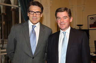 Texas Governor Rick Perry | by Foreign and Commonwealth Office