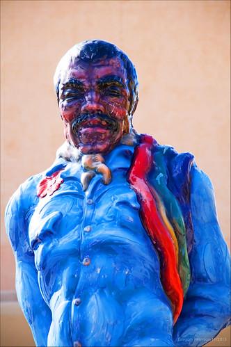 "Luis Jiménez ""Fiesta Jarabe"" Sculpture Detail"