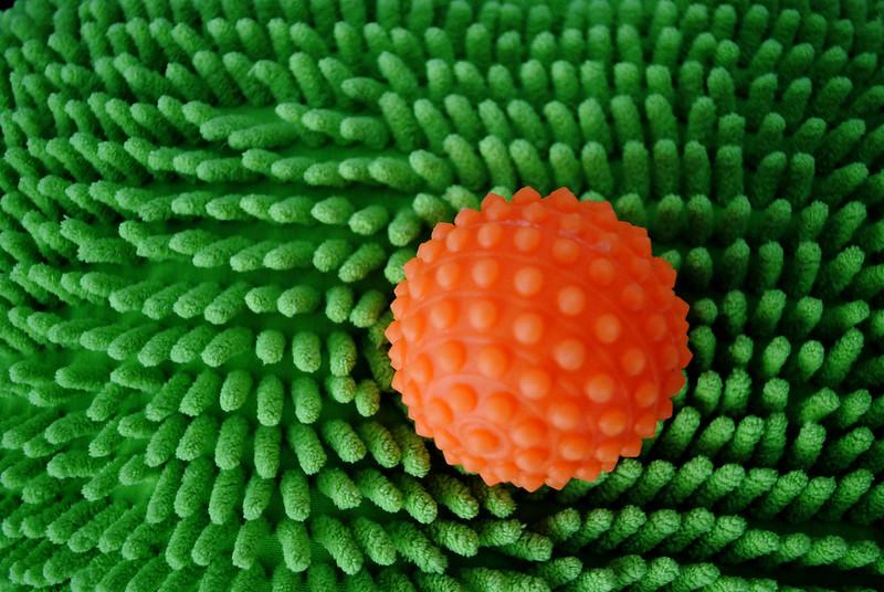 verde e laranja