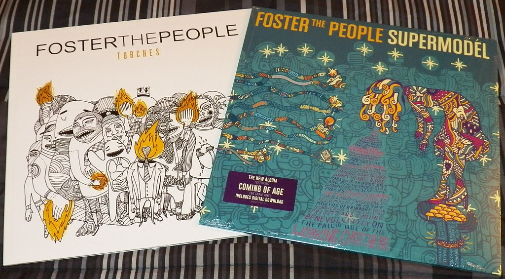 Foster The People Torches And Supermodel Vinyl Covers Flickr