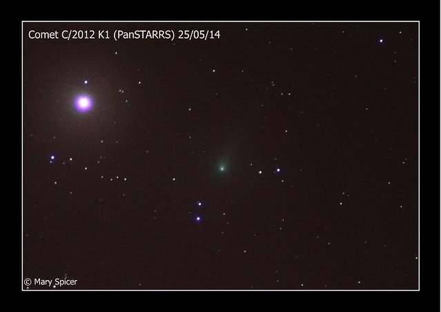 Comet C/2012 K1 PanSTARRS 26/05/14