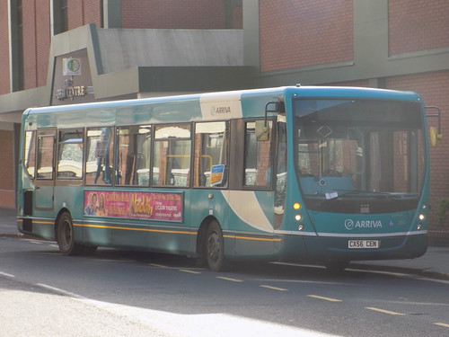 Arriva North West 2614 CX56 CEN on Hall Street, St Helens | by the2002busgroup