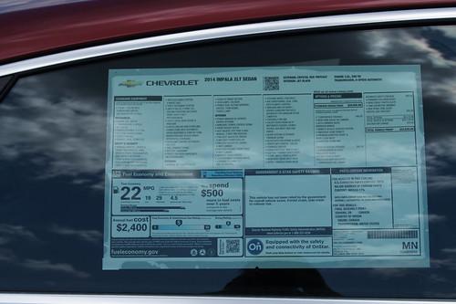 2014 Chevrolet Impala LT Photo