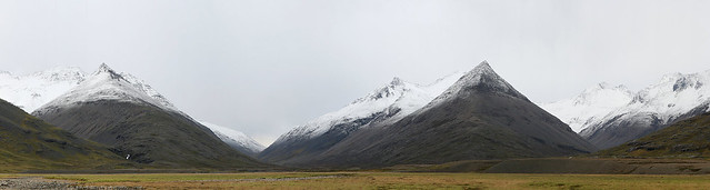 Icelandic mountains to the east of Hofn