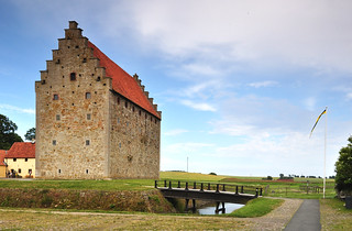Glimmingehus, a medieval stronghold in Scandinavia, built 1499-1506 | by Bochum1805