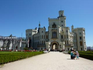 Hluboká Castle in The Czech Republic