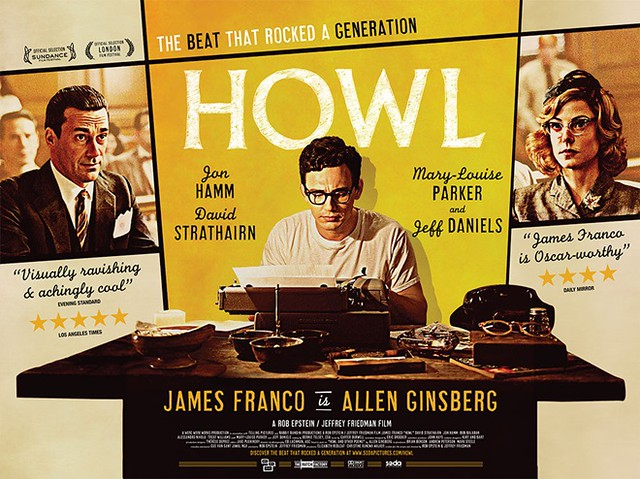 James Franco in Howl movie about Allen Ginsberg | Ca Ngua Sach ...