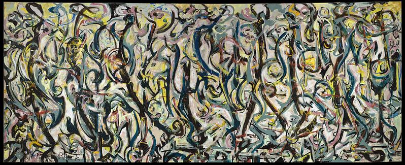 "Jackson Pollock, ""Mural,"" 1943"