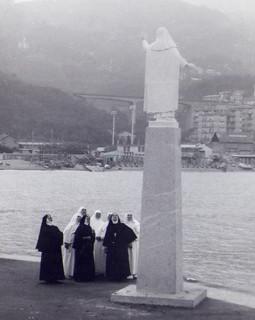 Nuns and Santa Caterina da Siena at Varazze, Liguria, Italy | by DSdriver
