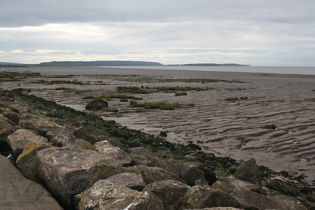 The Severn Estuary south of Clevedon