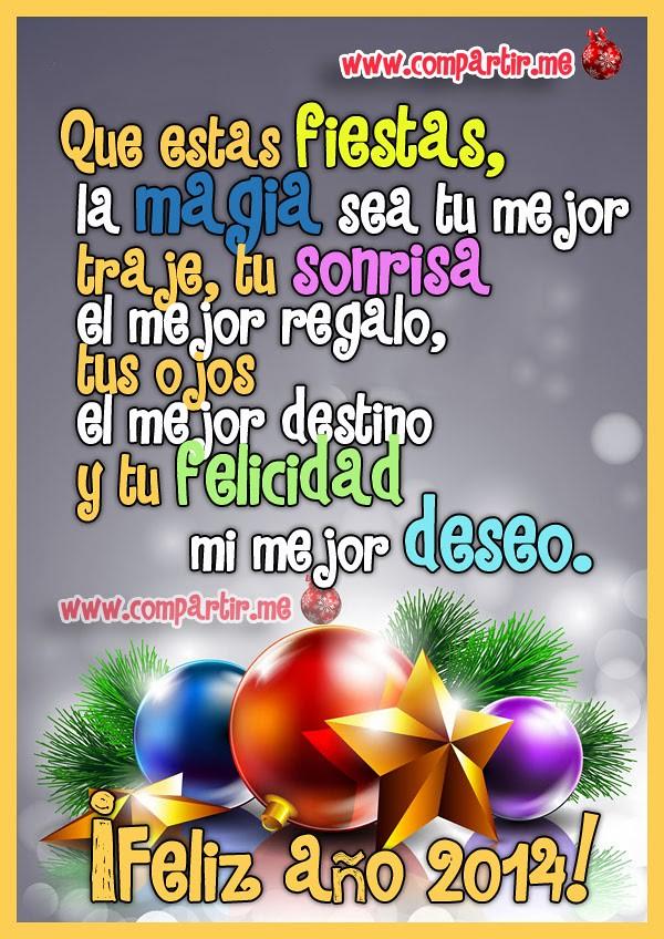 Frases De Amor Frase De Feliz Año Nuevo 2014 Compártelo Y