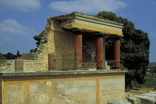 Palace of Minos, Knossos:  North Propylaea