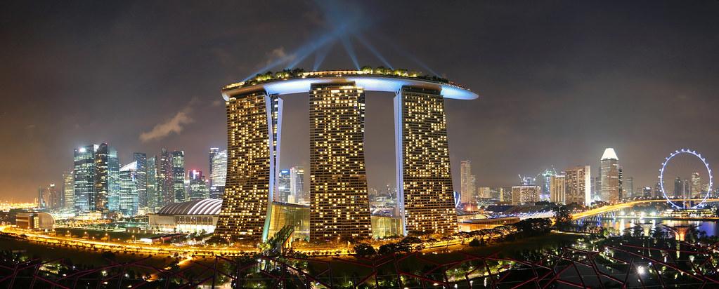 Marina Bay Sands Hotel Casino Singapore Marina Bay San Flickr
