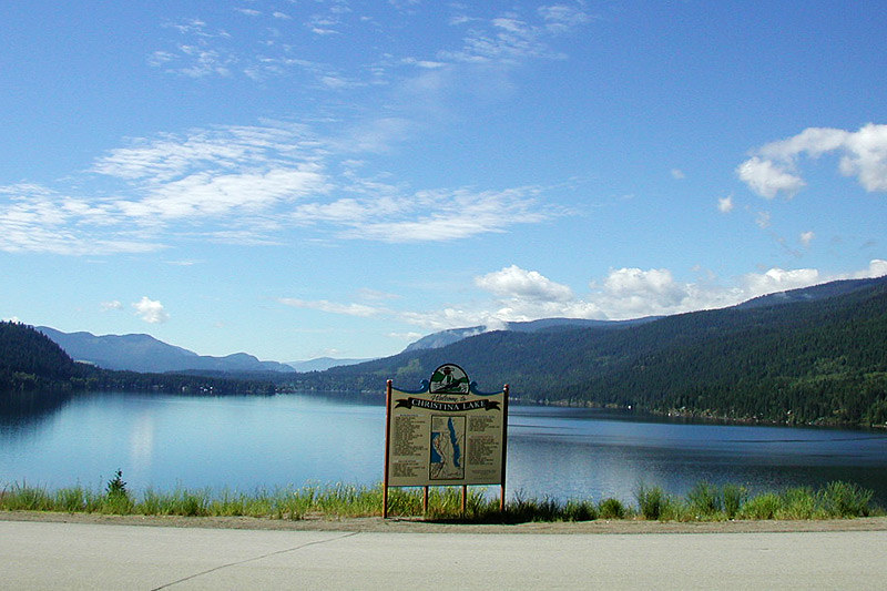Christina Lake, Boundary Country, Kootenay Rockies, British Columbia, Canada