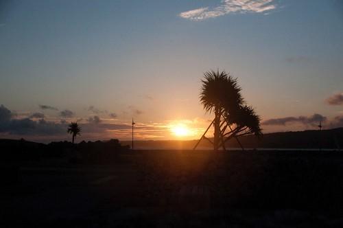 鹿児島県 旅行 朝日 日食 皆既日食 喜界島