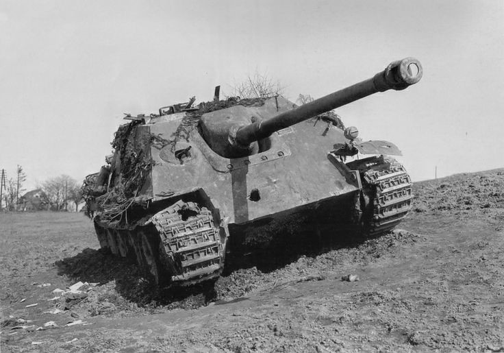 Övergivna Jagdpanther
