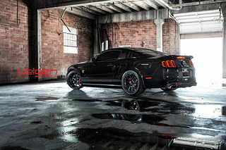 Ford Mustang GT 5.0 on Velgen Wheels VMB5 Gloss Black | by VelgenWheels