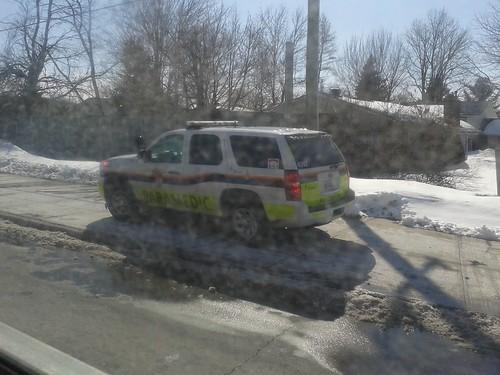 2012 Chevrolet Tahoe Ottawa Paramedic Service Rapid Response Unit (4392) Photo