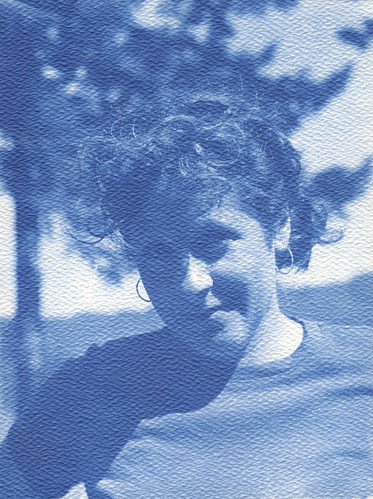 portrait 2d cyanotype 5x7 lake2011