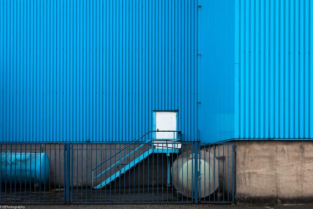 blue.fence
