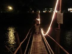 Die Bambusbrücke - Luang Prabang