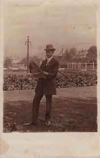 The Gönneranlage, Baden-Baden by B. Bickel (1911)