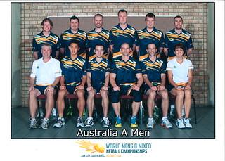 2013 South Africa Tour - Mens Australia A