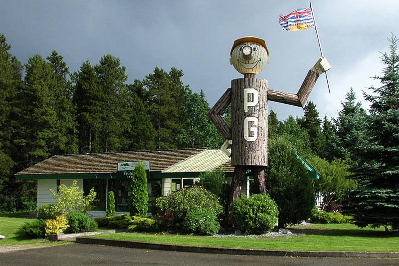 Prince George, Northern British Columbia, Canada